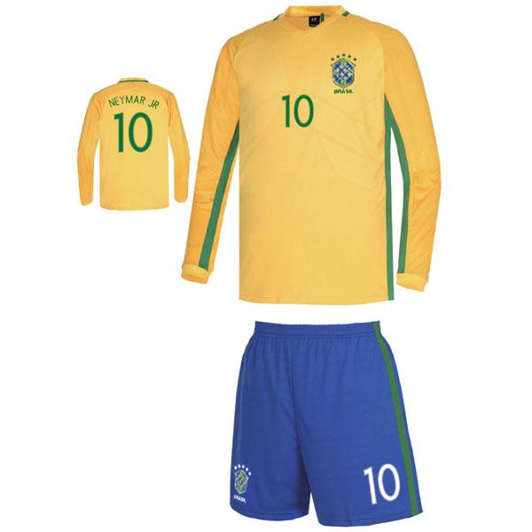 브라질 홈형16-17 [풀마킹/번호/이니셜] C1605