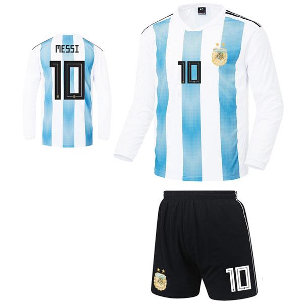 아르헨티나 홈형 17-18 [풀마킹/번호/이니셜] C1818