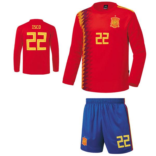 스페인 홈형 17-18 [풀마킹/번호/이니셜] C1819
