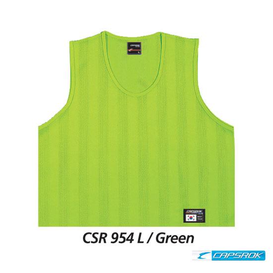 [캡스록] 순형광 (그린) 팀조끼 CSR-954