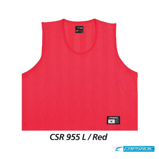 [캡스록] 순형광 (적색) 팀조끼 CSR-955