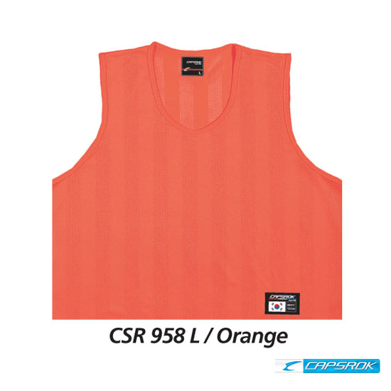 [캡스록] 순형광 (오렌지) 팀조끼 CSR-958
