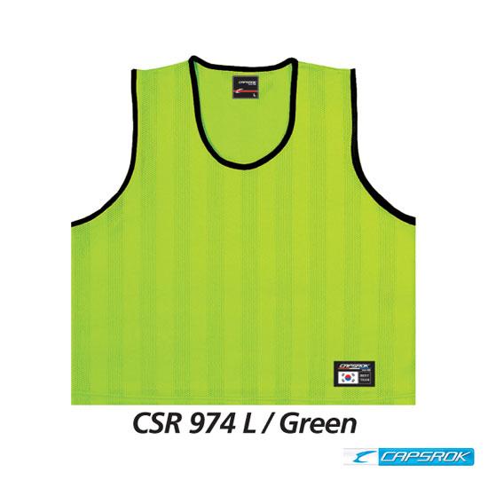 [캡스록] 형광 (그린) 팀조끼 CSR-974