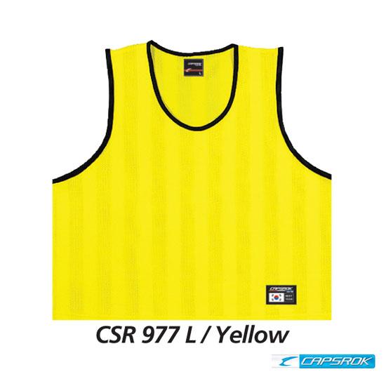 [캡스록] 형광 (노랑) 팀조끼 CSR-977
