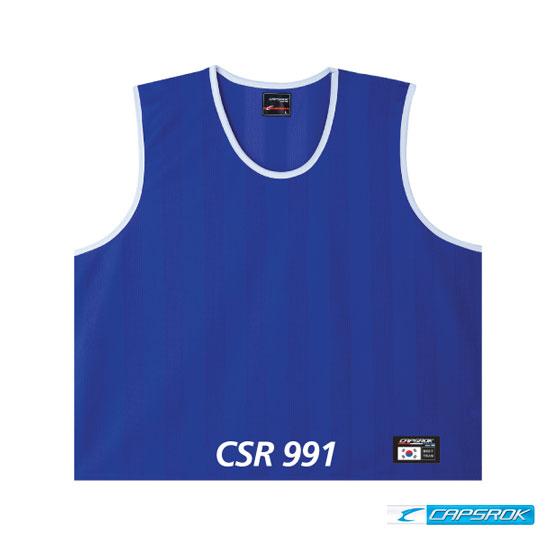 [캡스록] 망사 (청색) 팀조끼 CSR-991