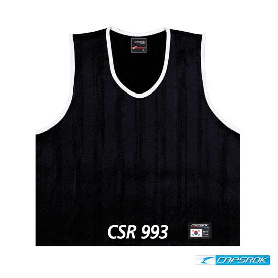 [캡스록] 망사 (검정) 팀조끼 CSR-993