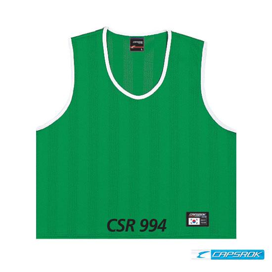 [캡스록] 망사 (녹색) 팀조끼 CSR-994