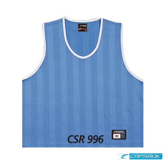 [캡스록] 망사 (소라색) 팀조끼 CSR-996