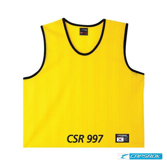 [캡스록] 망사 (노랑) 팀조끼 CSR-997