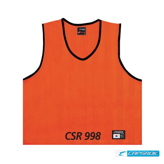 [캡스록] 망사 (오렌지) 팀조끼 CSR-998