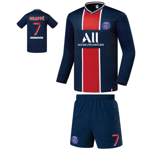 파리생제르망 홈형 20-21 축구유니폼 셋트 [풀마킹/번호/이니셜] FS0130