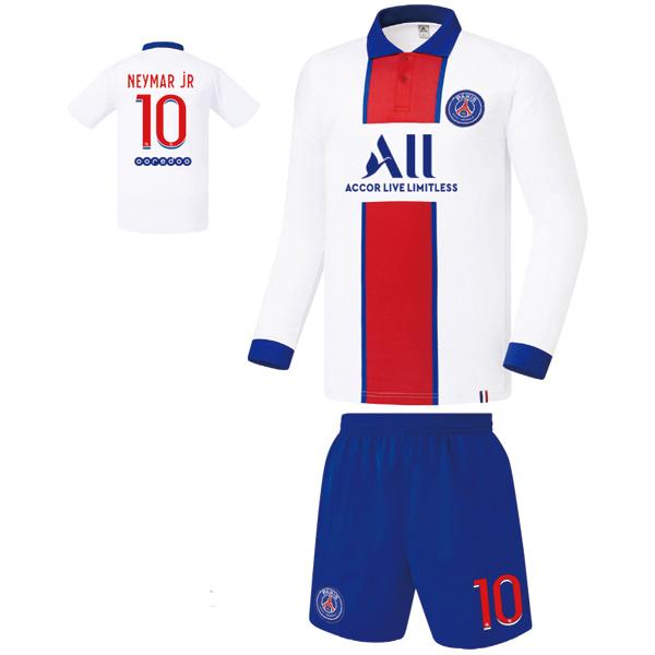 파리생제르망 어웨이형 20-21 축구유니폼 셋트 [풀마킹/번호/이니셜] FS0132
