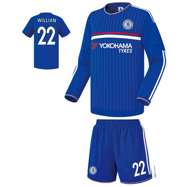 첼시 홈 커스텀 축구유니폼 셋트 [풀마킹/번호/이니셜] FS0331
