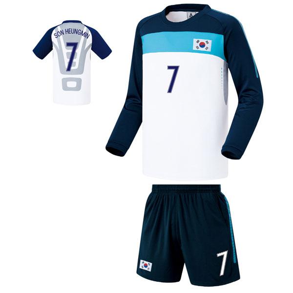 대한민국 져지 축구유니폼 셋트 [풀마킹/번호/이니셜] FS0340