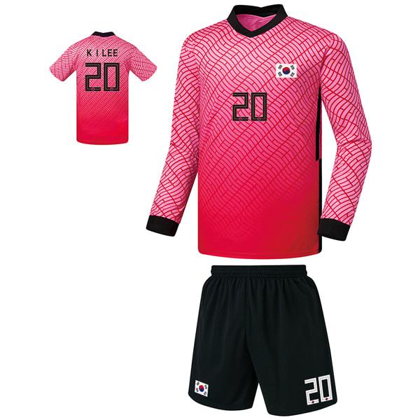 대한민국 홈형 20-21 축구유니폼 셋트 [풀마킹/번호/이니셜] FS0345