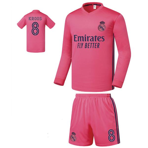 레알마드리드 어웨이형 20-21 축구유니폼 셋트 [풀마킹/번호/이니셜] FS0365