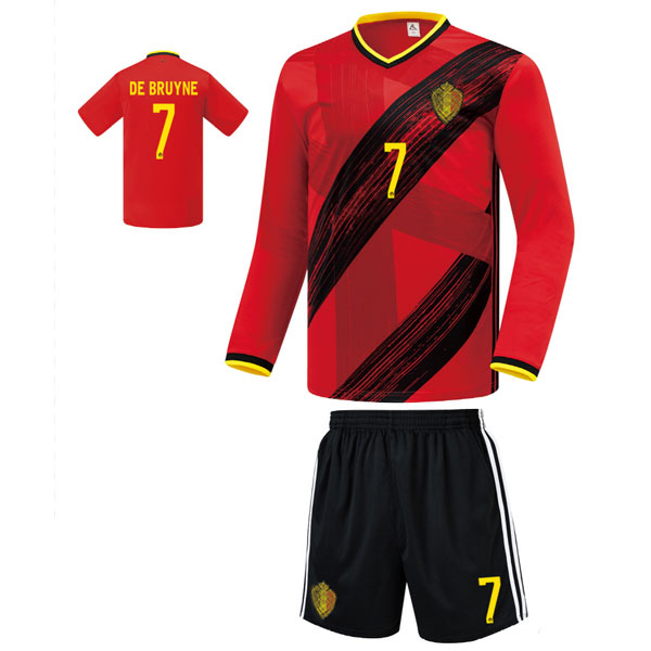 벨기에 홈 20-21 축구유니폼 셋트 [풀마킹/번호/이니셜] FS0435