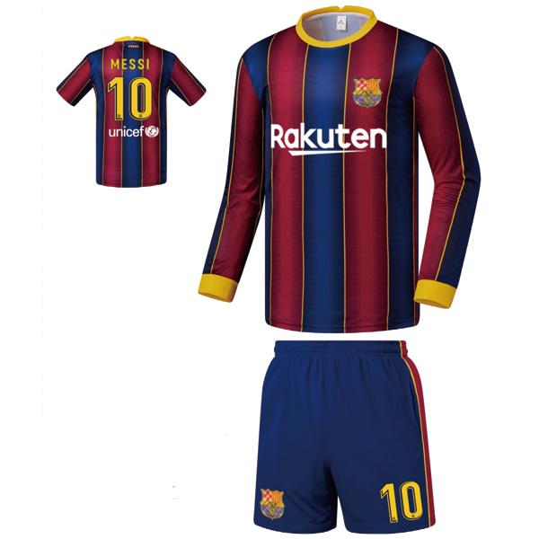 바르셀로나 홈형 20-21 축구유니폼 셋트 [풀마킹/번호/이니셜] FS0451