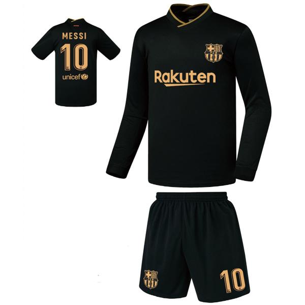 바르셀로나 어웨이형 20-21 축구유니폼 셋트 [풀마킹/번호/이니셜] FS0453