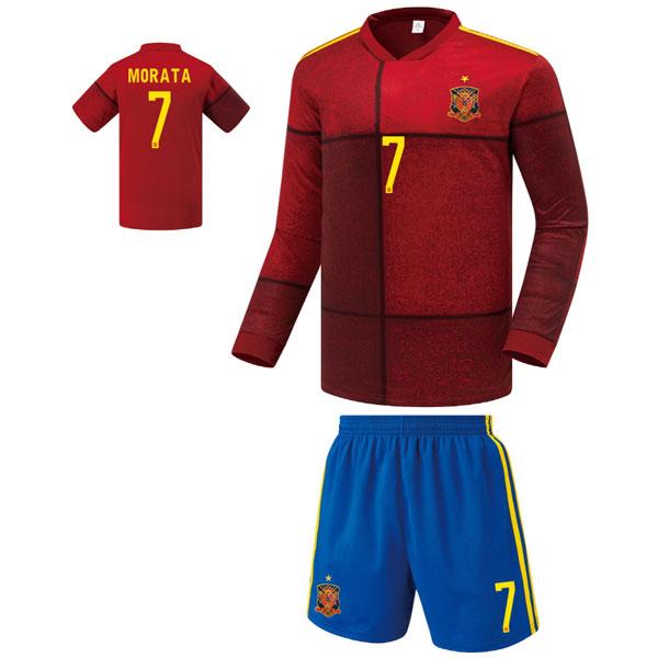 스페인 홈형 20-21 축구유니폼 셋트 [풀마킹/번호/이니셜] FS0465