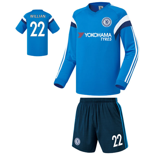 첼시 져지형 14-15 축구유니폼 셋트 [풀마킹/번호/이니셜] FS4336