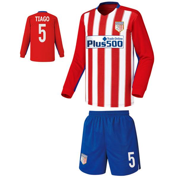 아틀레티코 마드리드 홈형 15-16 축구유니폼 셋트 [풀마킹/번호/이니셜] FS5045