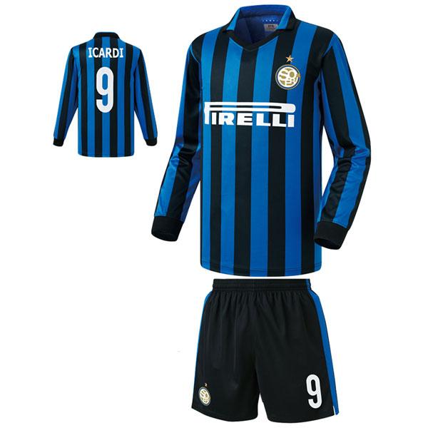인터밀란 홈형 15-16 축구유니폼 셋트 [풀마킹/번호/이니셜] FS5391