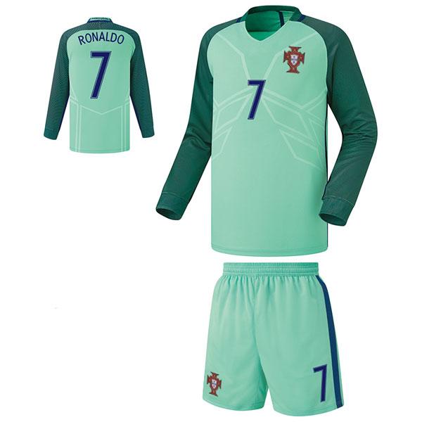 포르투갈 어웨이형 16-17 축구유니폼 셋트 [풀마킹/번호/이니셜] FS6314