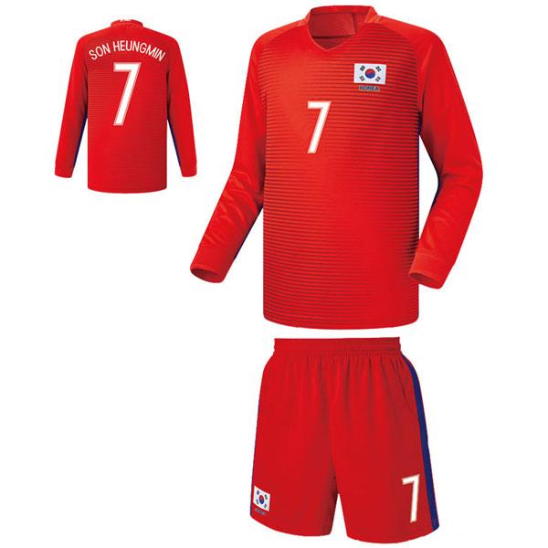 대한민국 홈형 16-17 축구유니폼 셋트 [풀마킹/번호/이니셜] FS6345