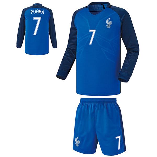 프랑스 홈형 16-17 축구유니폼 셋트 [풀마킹/번호/이니셜] FS6371