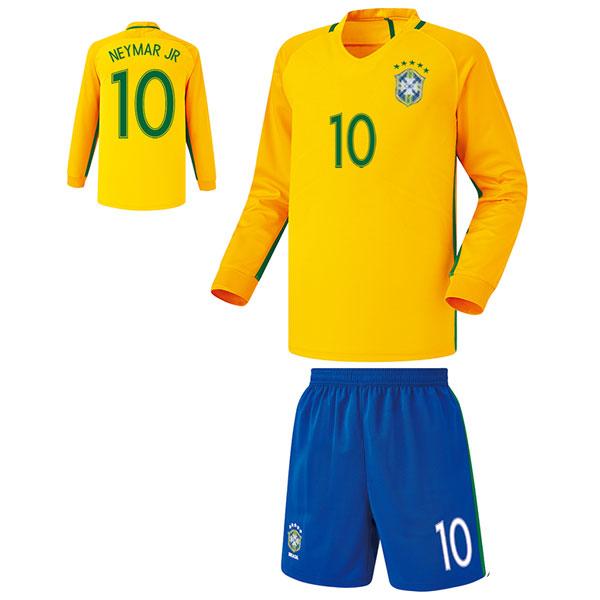 브라질 홈형 16-17 축구유니폼 셋트 [풀마킹/번호/이니셜] FS6467