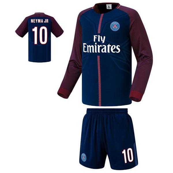 파리생제르망 홈형 17-18 축구유니폼 셋트 [풀마킹/번호/이니셜] FS7130