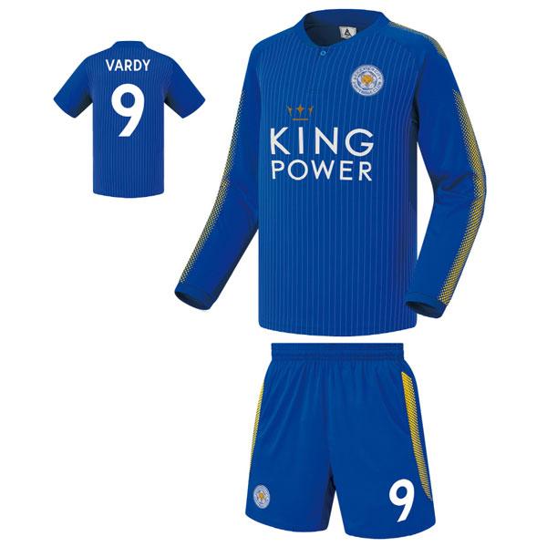 레스터시티 홈형 17-18 축구유니폼 셋트 [풀마킹/번호/이니셜] FS7151