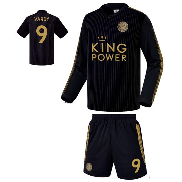 레스터시티 어웨이형 17-18 축구유니폼 셋트 [풀마킹/번호/이니셜] FS7153