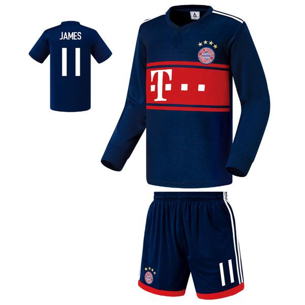 뮌헨 어웨이형 17-18 축구유니폼 셋트 [풀마킹/번호/이니셜] FS7180