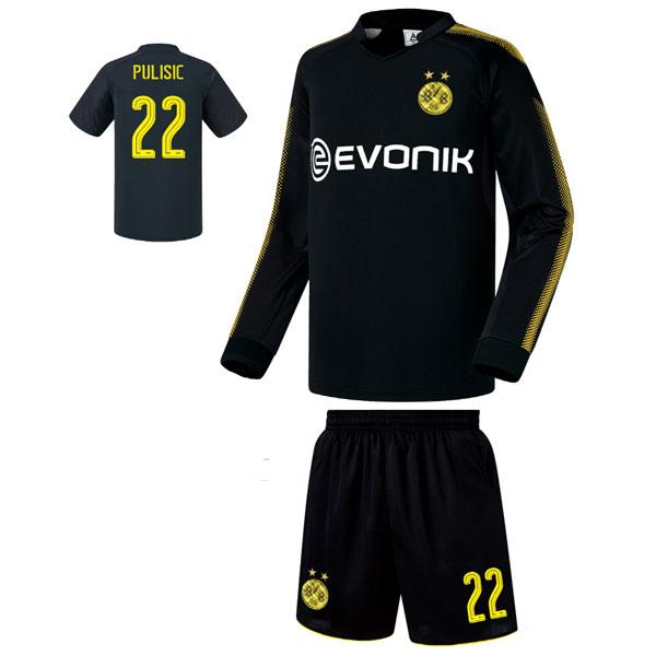 도르트문트 어웨이형 17-18 축구유니폼 셋트 [풀마킹/번호/이니셜] FS7263