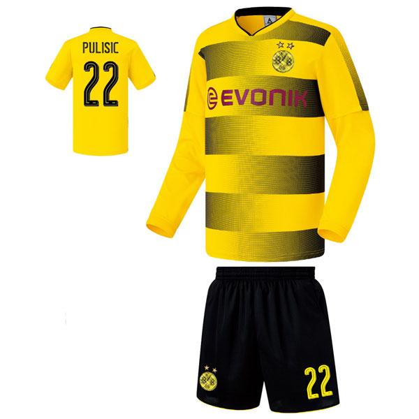 도르트문트 홈형 17-18 축구유니폼 셋트 [풀마킹/번호/이니셜] FS7267