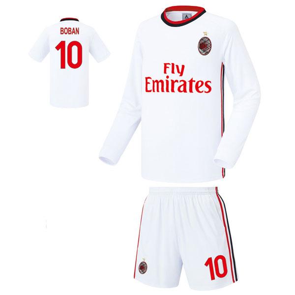 AC밀란 어웨이형 17-18 축구유니폼 셋트 [풀마킹/번호/이니셜] FS7272