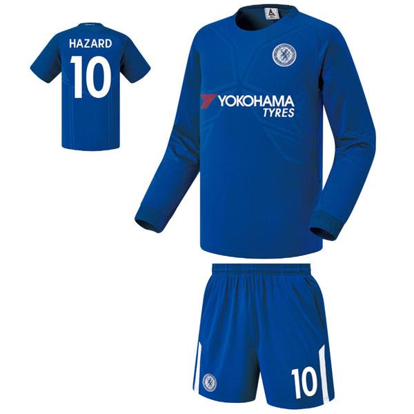 첼시 홈형 17-18 축구유니폼 셋트 [풀마킹/번호/이니셜] FS7331
