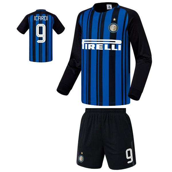 인터밀란 홈형 17-18 축구유니폼 셋트 [풀마킹/번호/이니셜] FS7391