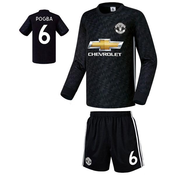 맨유 어웨이형 17-18 축구유니폼 셋트 [풀마킹/번호/이니셜] FS7403