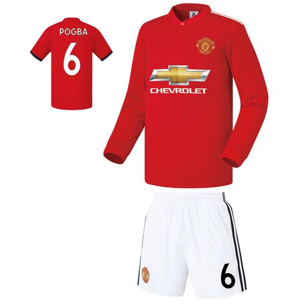 맨유 홈형 17-18 축구유니폼 셋트 [풀마킹/번호/이니셜] FS7405