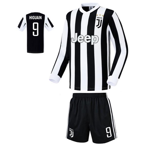 유벤투스 홈형 17-18 축구유니폼 셋트 [풀마킹/번호/이니셜] FS7422
