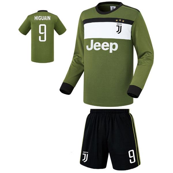 유벤투스 써드형 17-18 축구유니폼 셋트 [풀마킹/번호/이니셜] FS7424