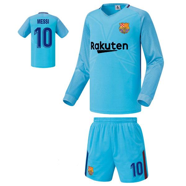 바르셀로나 어웨이형 17-18 축구유니폼 셋트 [풀마킹/번호/이니셜] FS7456