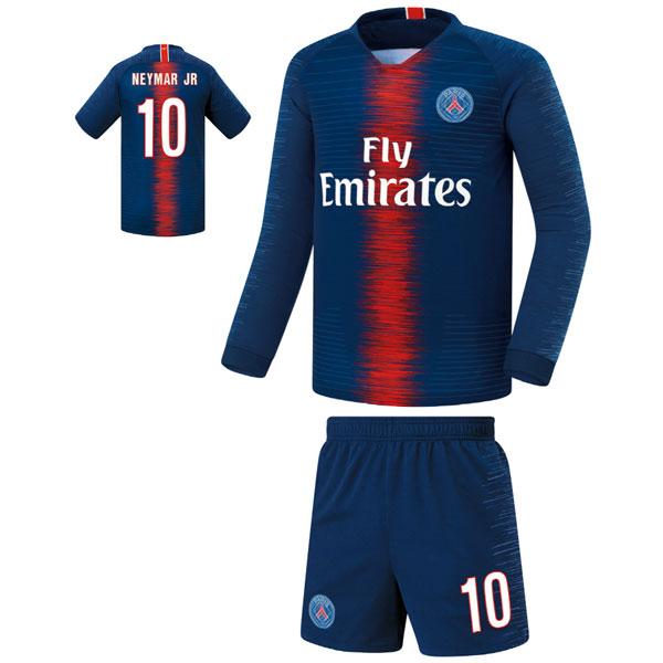 파리생제르망 홈형 18-19 축구유니폼 셋트 [풀마킹/번호/이니셜] FS8130