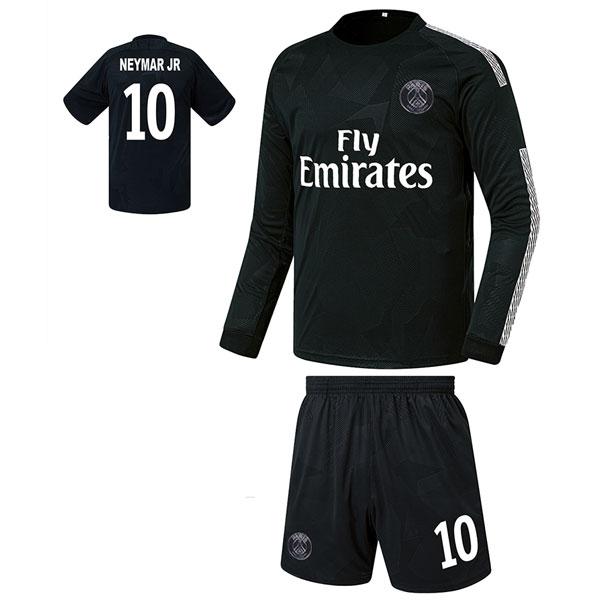 파리생제르망 써드형 17-18 축구유니폼 셋트 [풀마킹/번호/이니셜] FS8133
