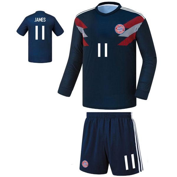 뮌헨 져지형 18-19 축구유니폼 셋트 [풀마킹/번호/이니셜] FS8180