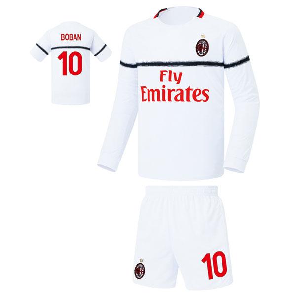 AC밀란 어웨이형 18-19 축구유니폼 셋트 [풀마킹/번호/이니셜] FS8272