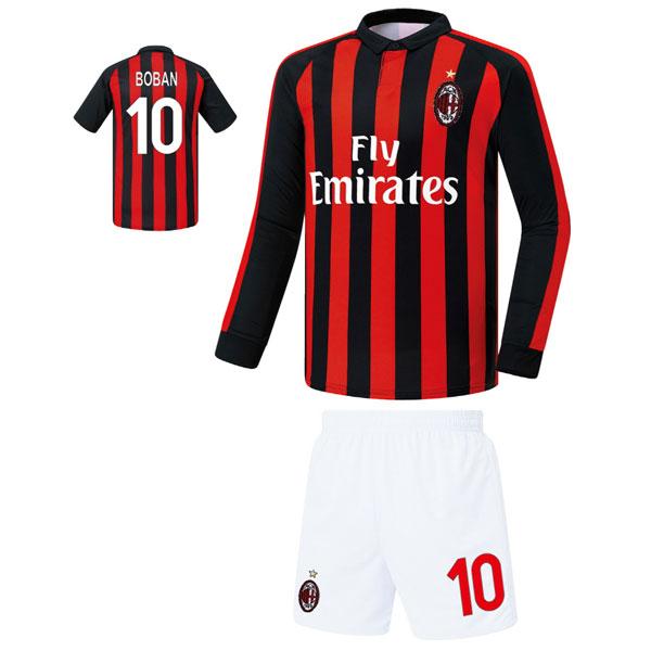 AC밀란 홈형 18-19 축구유니폼 셋트 [풀마킹/번호/이니셜] FS8275